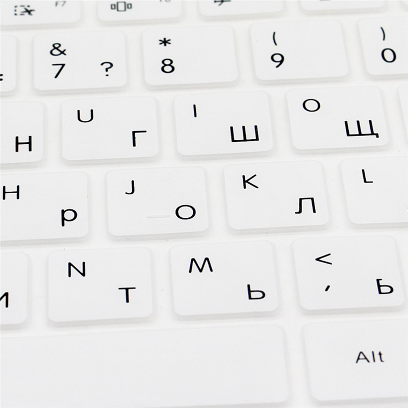 Russian Silicone Keyboard Cover For 12.5 inch 13.3 inch XIAOMI AIR Laptop Notebook Accessories