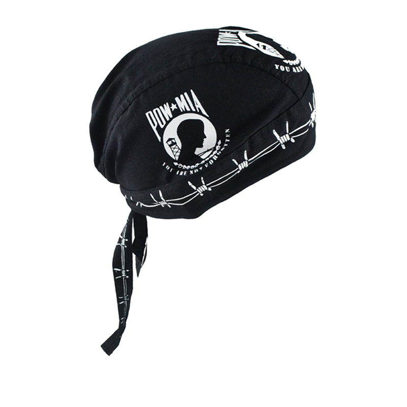 Men Outdoor Cotton Breathable Quick-drying Turban Hat