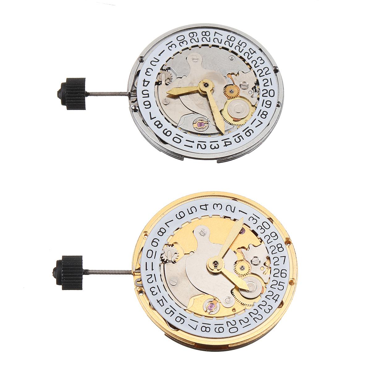 Mechanical Automatic Watch Movement Calendar High Accuracy Wristwatch Replacement For ETA 2824