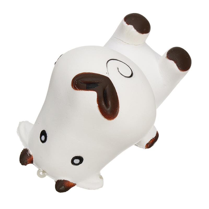 11CM Cartoon Milk Cow Squishy Slow Rising Phone Straps Pendant Funny Toy Gift Original Packaging