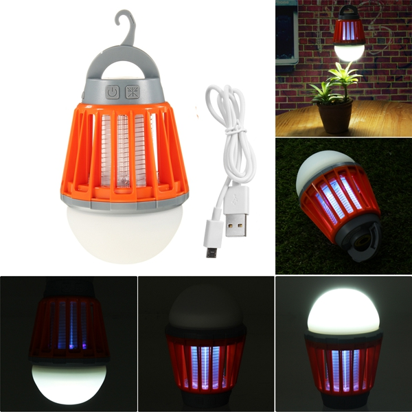 UV Pure White 3 Lighting System Bug Zapper Mosquito Fly