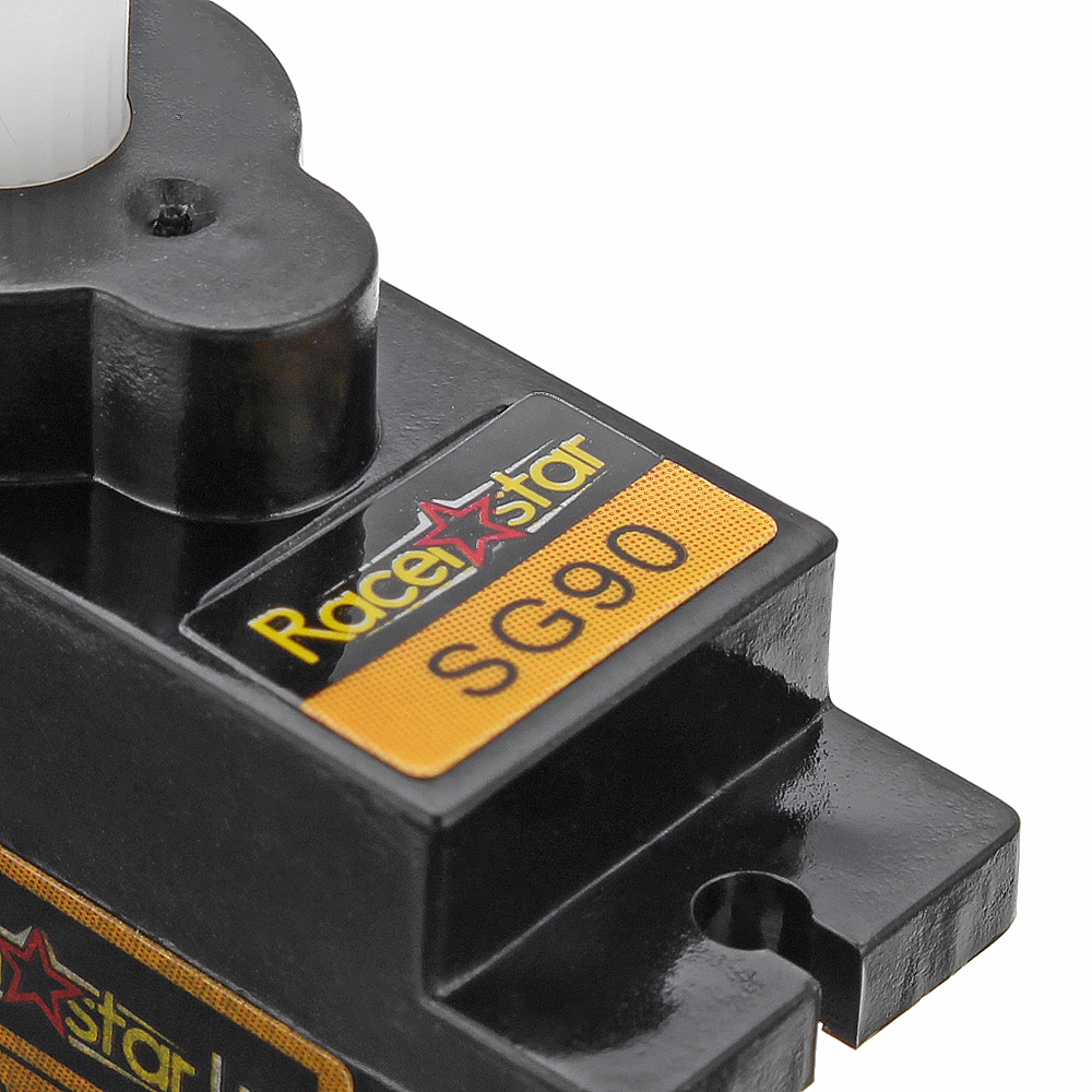 6PCS Racerstar SG90 9g Micro Plastic Gear Analog Servo For RC Helicopter Airplane Robot