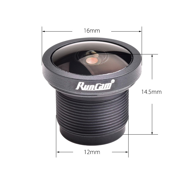 Runcam M12 Lens 2.1mm 2.5mm for RunCam Micro Eagle/Eagle 2 Pro Camera - Photo: 3