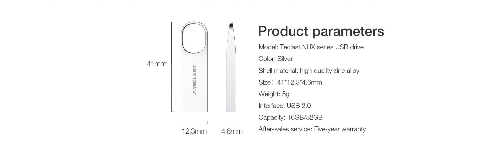 TECLAST 16/32GB USB 2.0 Mini Pendrive USB Flash Drive USB Disk