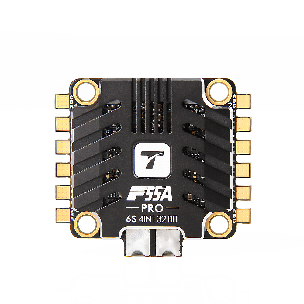 T-motor F55A Pro 4 IN 1 55A 3-6S Blheli_32 32Bit Brushless ESC DSHOT600 for RC Drone