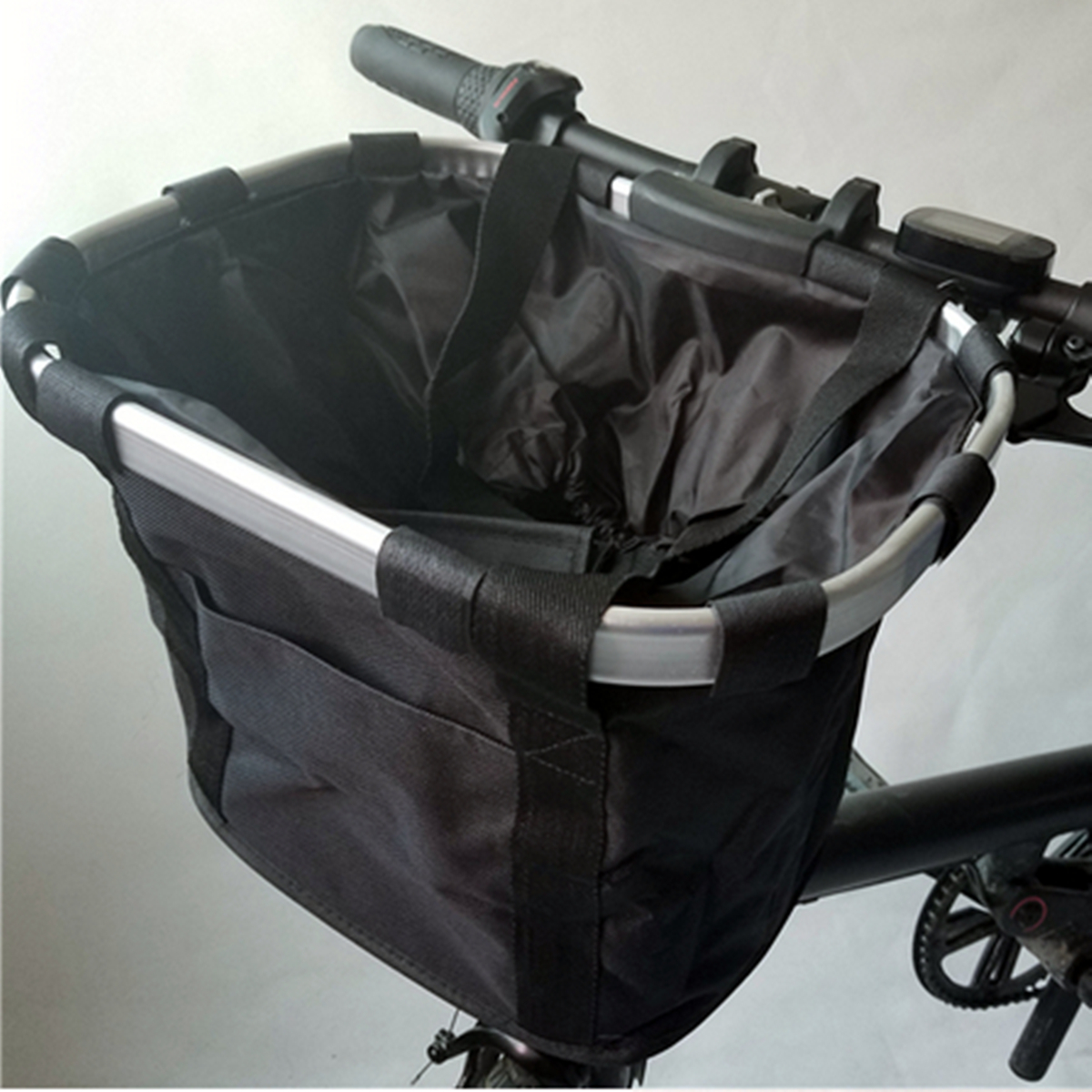 BIKIGHT Oxford Cloth Bike Storage Front Carrying Bag for Xiaomi Electric Scooter E-bike Cycling Basket Package