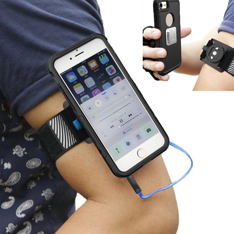 Универсальный магнитный На открытом воздухе Sport Running Cycling Light Arm Armand Arm Сумка для Xiaomi iPhone