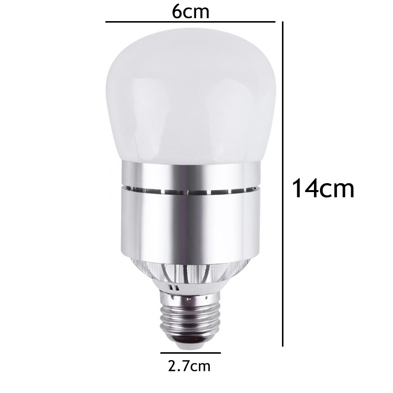 ARILUX® E27 12W Dusk to Dawn Automatic on&off LED Sensor Light Bulb for Yard Porch Patio AC85-265V