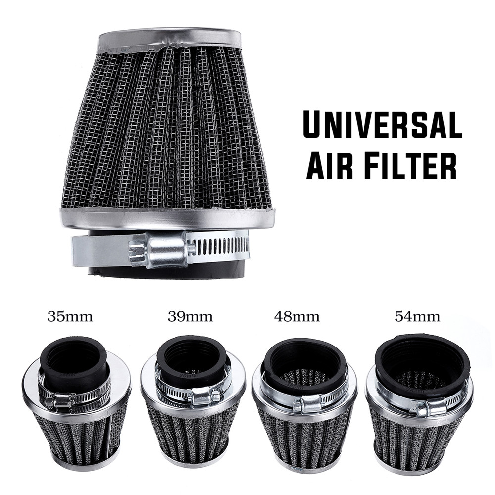 Motorcycle Cold Air Filter Fit For Kawasaki/Suzuki Ducati/Yamaha Pod Cleaner 35/39/48/50/54/60mm