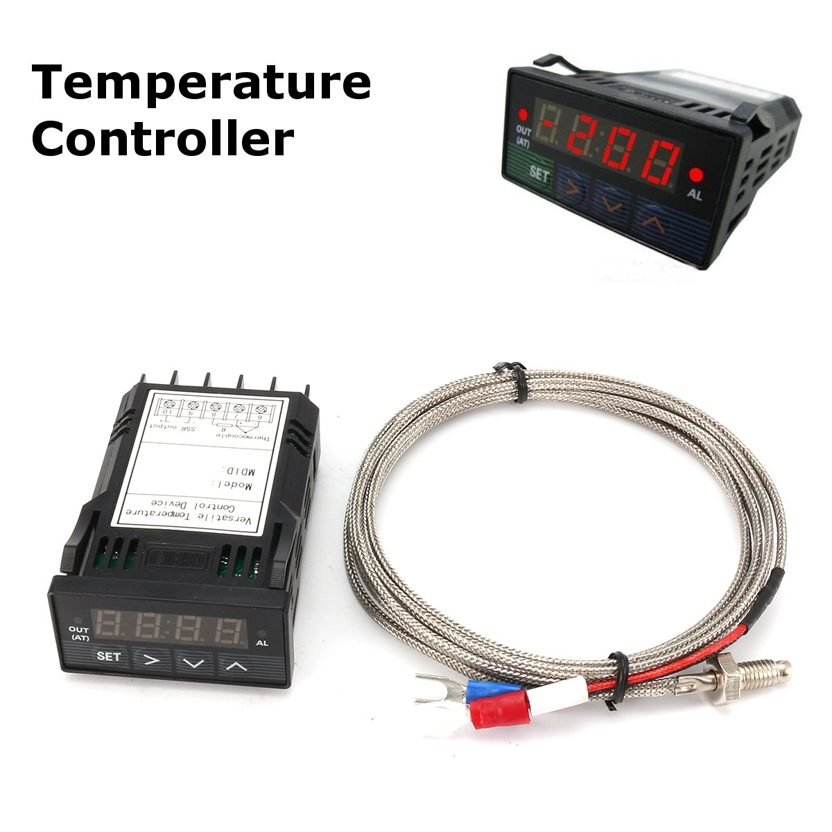XMT7100 Digital PID Temperature Control Controller with K Type Thermocouple