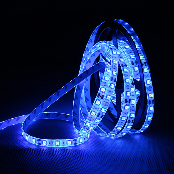 5M SMD5054 Red Green Blue Pink Ice Blue 300LEDs Flexible Waterproof Strip Light DC12V