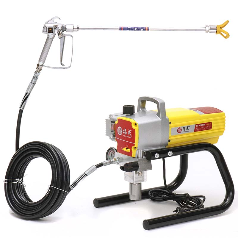 1800W 220V 5800Psi High Pressure Airless Spraying Machine Paint Sprayer Wall Spray Machine