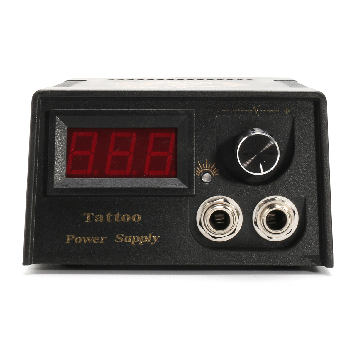 LCD Professional Tattoo Digital Dual Power Supply For Foot Pedal Switch Machine