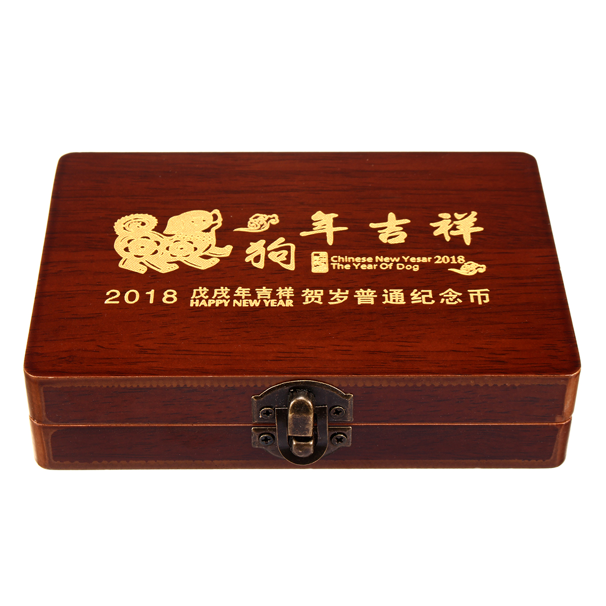 Wood Display Box Wooden Storage Holders for 5 Coins NGC PCGS