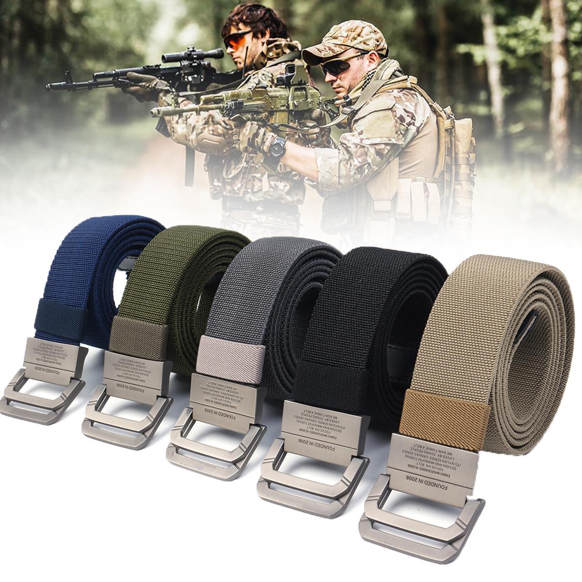 Survival Military Belts Tactical Belt Nylon Waist Belt Strap Military Emergency EDC Gadget