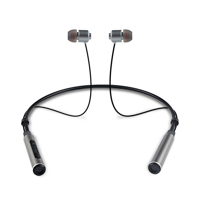 BINAI B22 Double Magnetic Adsorption Wireless Bluetooth Earphone Sports Neckband Headphone with Mic (Binai) Pompano Beach Sales of used goods
