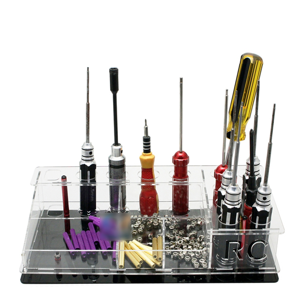 Multi-functional Universal Tool Kit Storage Box Screwdriver Rack DIY For ESC Motor FPV RC Drone