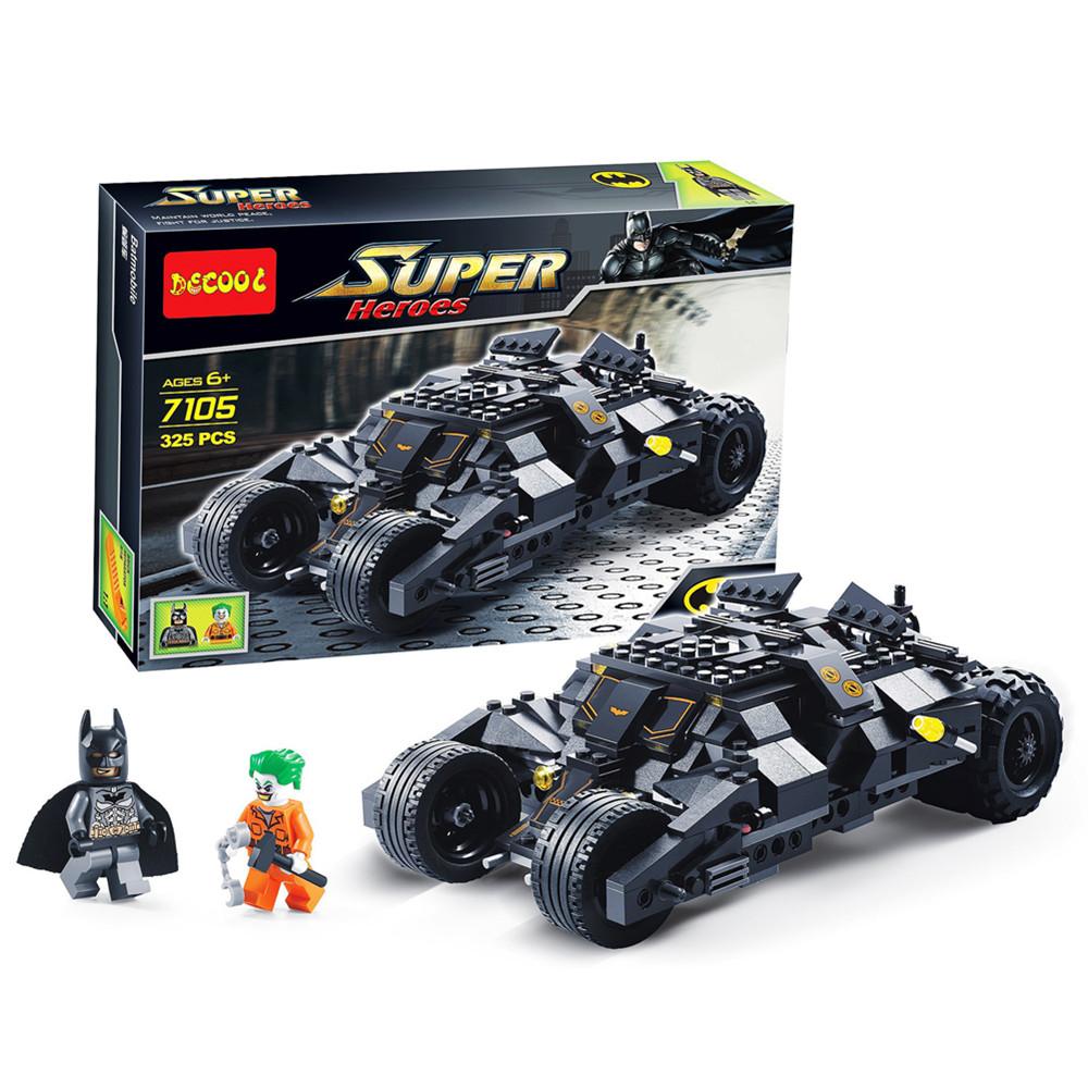Decool 7105 The Joker Super Hero Building Blocks Toys Bricks Car Set 325PCS