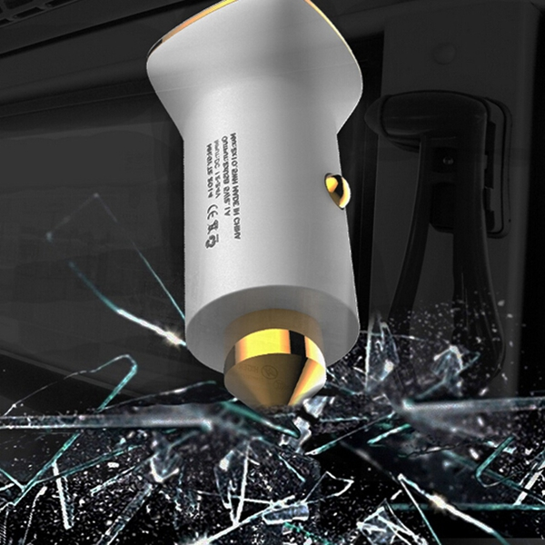 Dual USB Car Charger Power Adapter Cigarette Lighter Socket 12V 24V