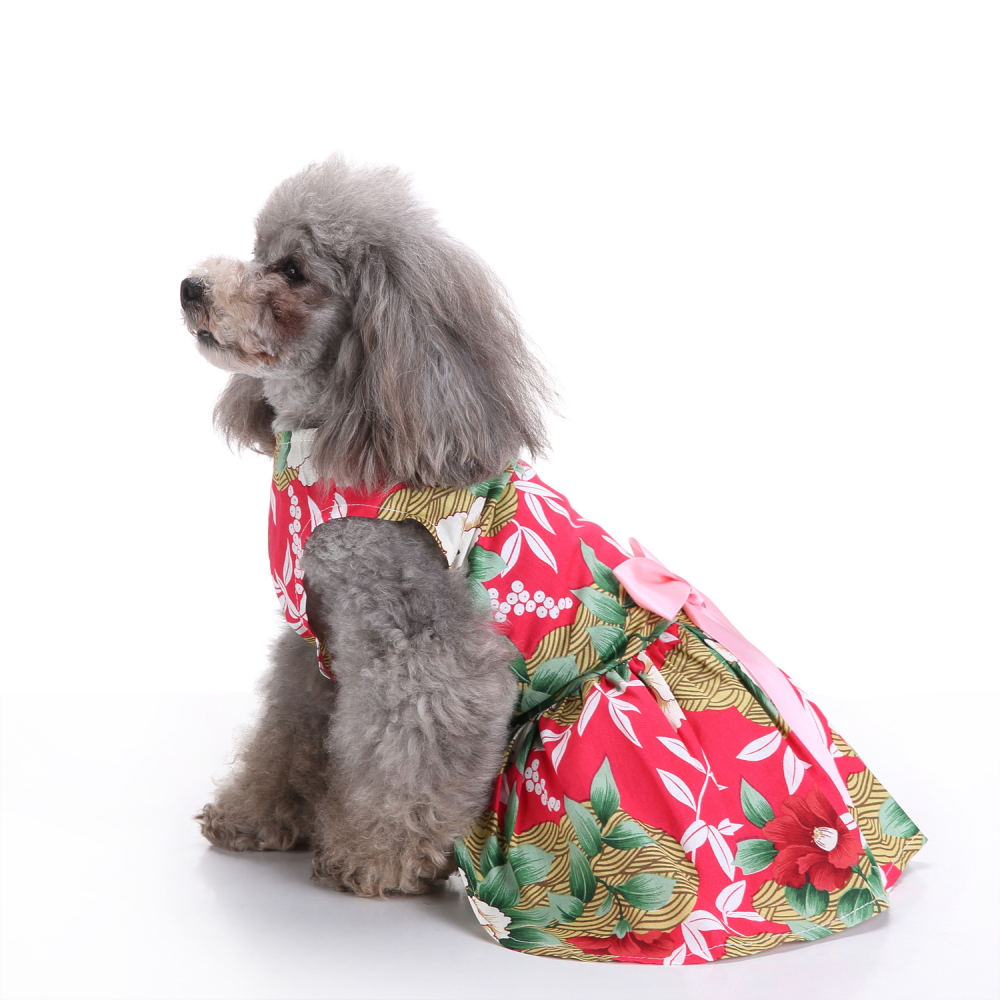 Sweetie Pet Clothes for Dog Dress Sundress Shirts Summer Pet Dress