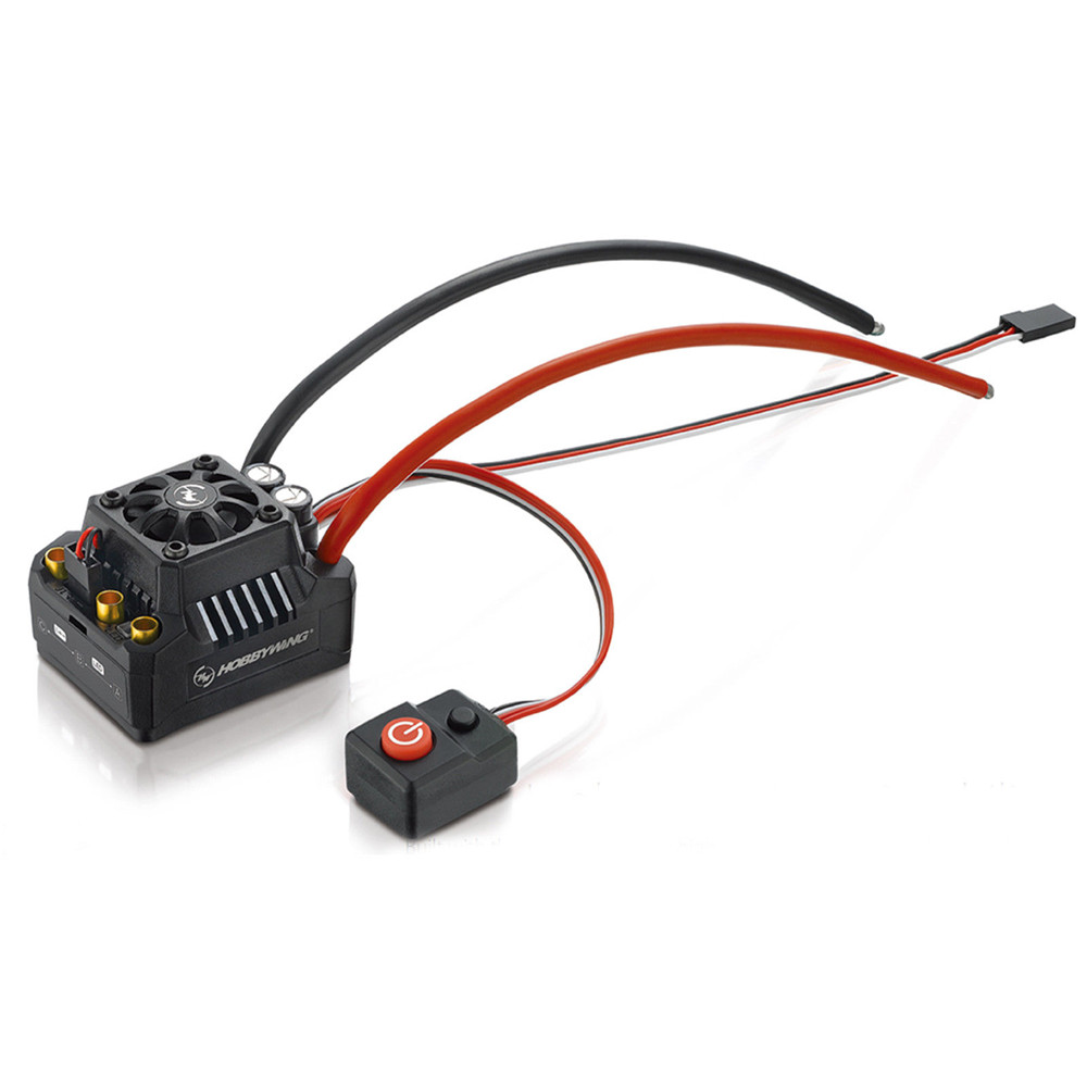 Hobbywing EZRUN MAX10-SCT 120A Waterproof Brushless ESC for 1/10 Rc Car Truck - Photo: 5