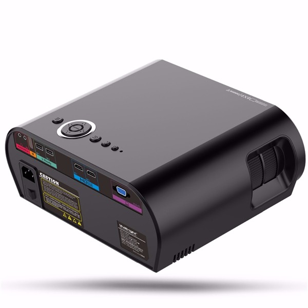 GP90 Portable LED Projector 3500Lms HD Projector LCD Projector Support 1080P Home Theater