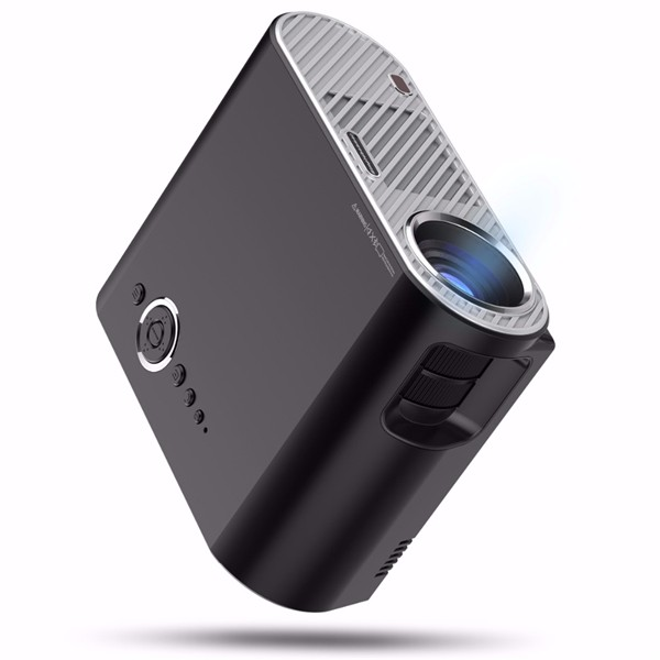 GP90 Portable LED Projector 3200Lms HD Projector LCD Projector Support 1080P Home Theater