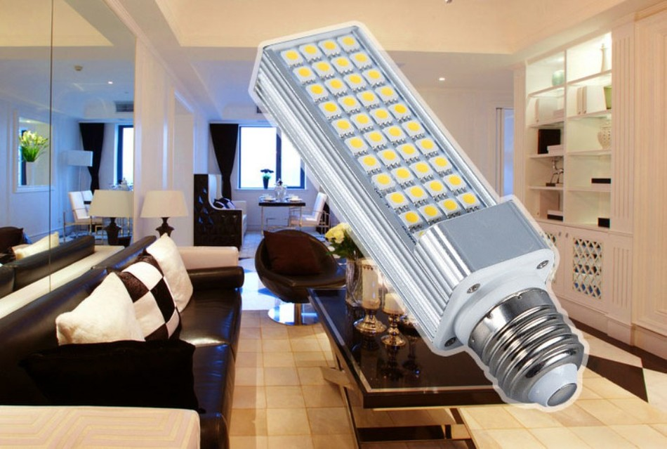 E27 G24 5W 7W 9W 11W 13W SMD5050 LED Corn Bulb Lamp Spotlight AC85-265V