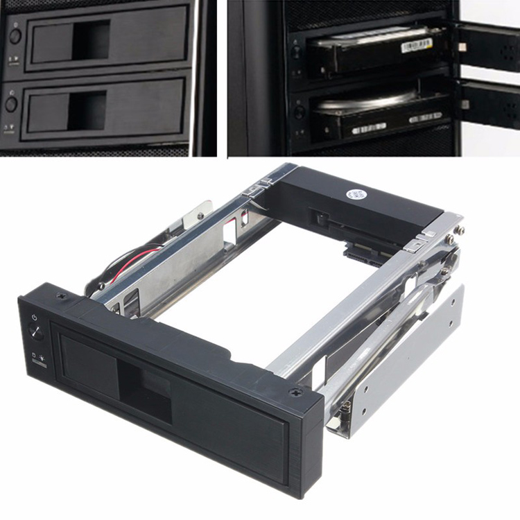 ORICO 1106SS 5.25 CD-ROM Space to 3.5 inch SATA HDD Drive Bay Hard Drive Converter