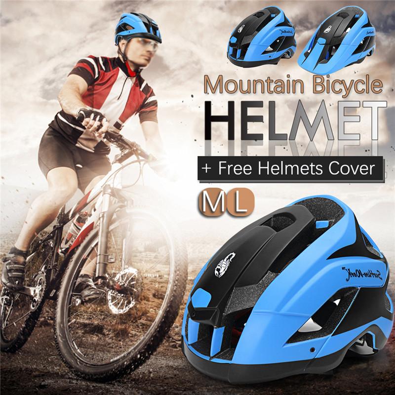 SCOHIRO-WORK Water Label Version Bike Helmet Mountain Bicycle Cycling Ultralight Helmet