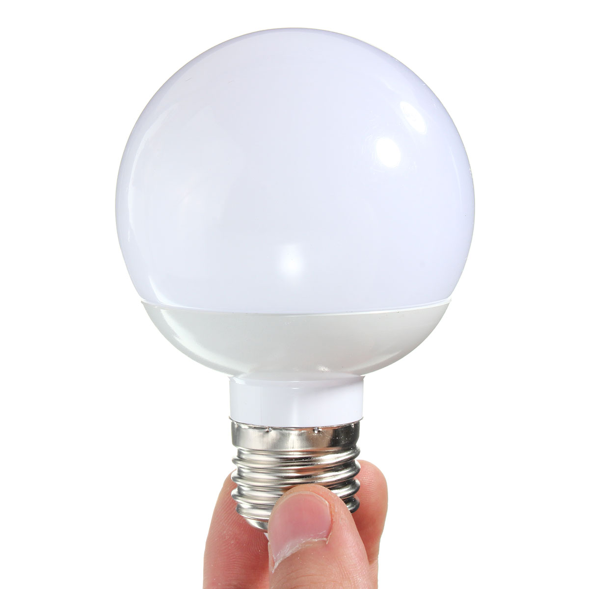 E27 6W 14 SMD 5730 LED Pure White Warm White PC Material Globe Bulb AC85-265V