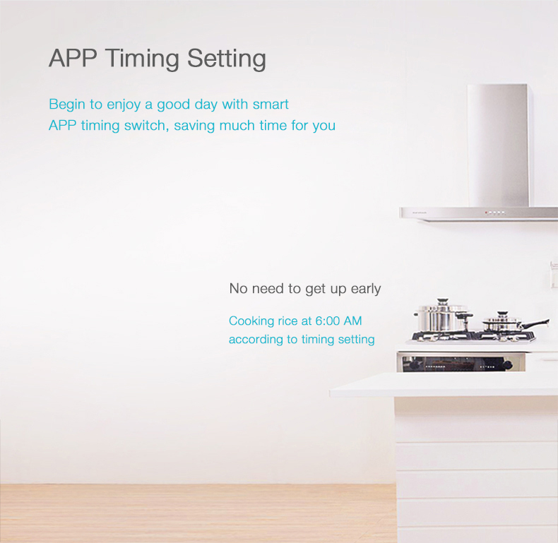 Xiaomi 5 Outlet Portable Smart WiFi APP Remote Control Energy Monitor Timing Power Strip with Smart Chip