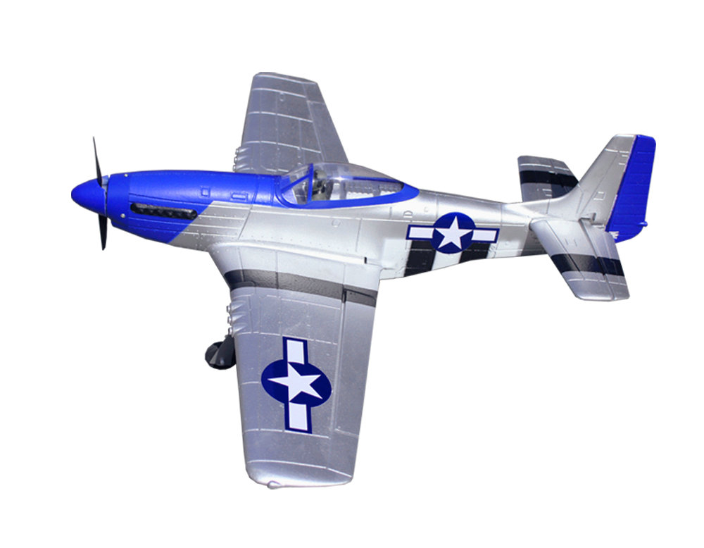 Volantex RC 768-1 Mustang P51D 750mm Wingspan EPO Warbird RC Airplane PNP - Photo: 5