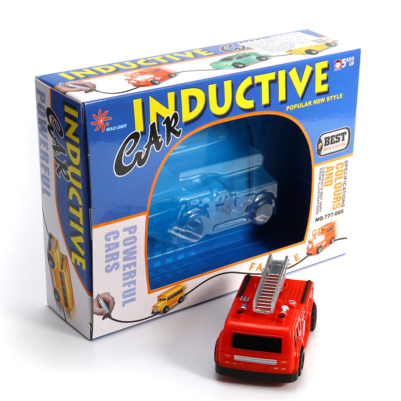 1pc Magic Truck Inductive Car Construction Vehicles For Children Educational Gift Novelties Toys