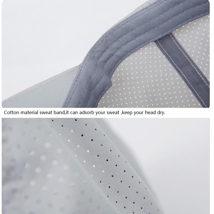 Unisex Men Women Polyester Quick Dry Hole Baseball Cap Breathable Adjustable Outdoor Sport Hats