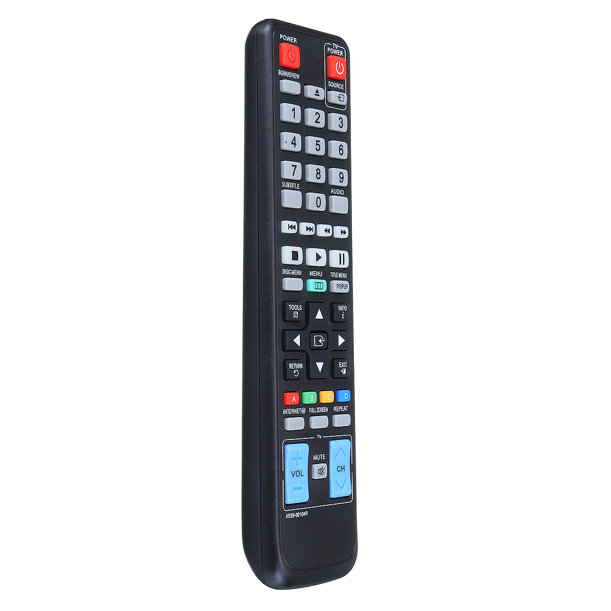 Replacement Remote Control For Samsung BD-C5300 BD-C5500 BD-D5100 BD-C7500 Blu-ray DVD Player