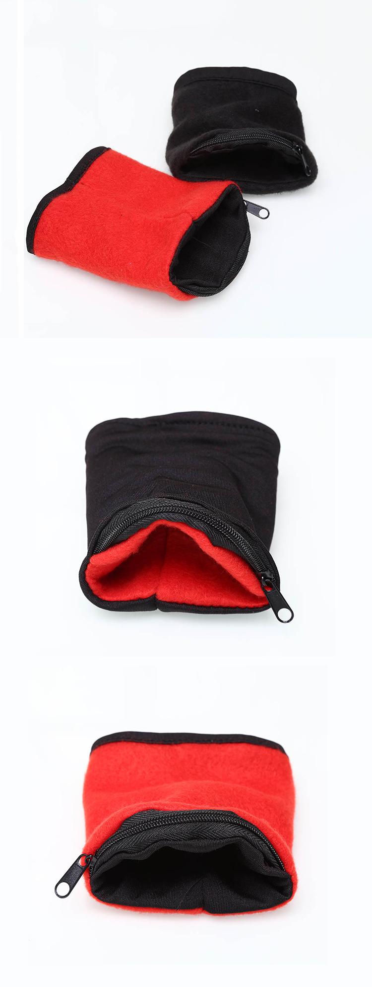 Honana HN-B9 3 Colors Zipper Wristband Organizer Pocket Card Coin Key Storage Bag Sport Wallet