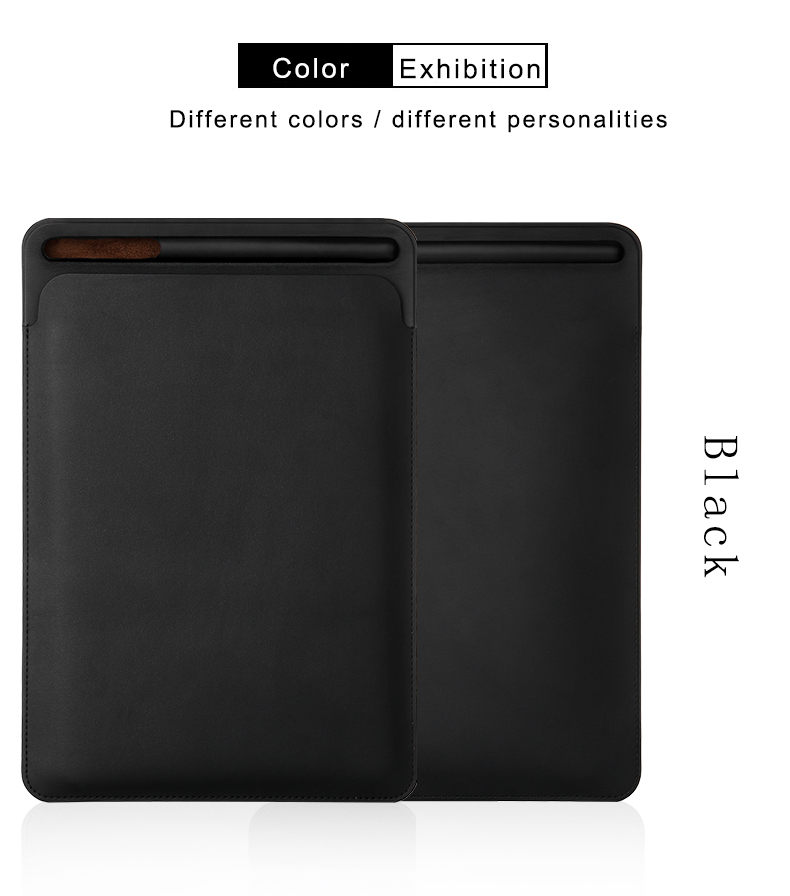 Premium Sleeve Pouch With Apple Pencil Holder For iPad Pro 12.9 inch 2015 & 2017