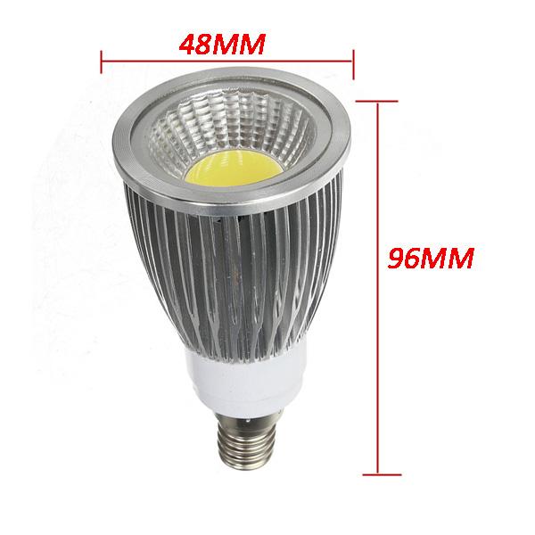 E14 7W White/Warmwhite LED COB Spot Down Light Bulb Spot Lightt AC 85-265V