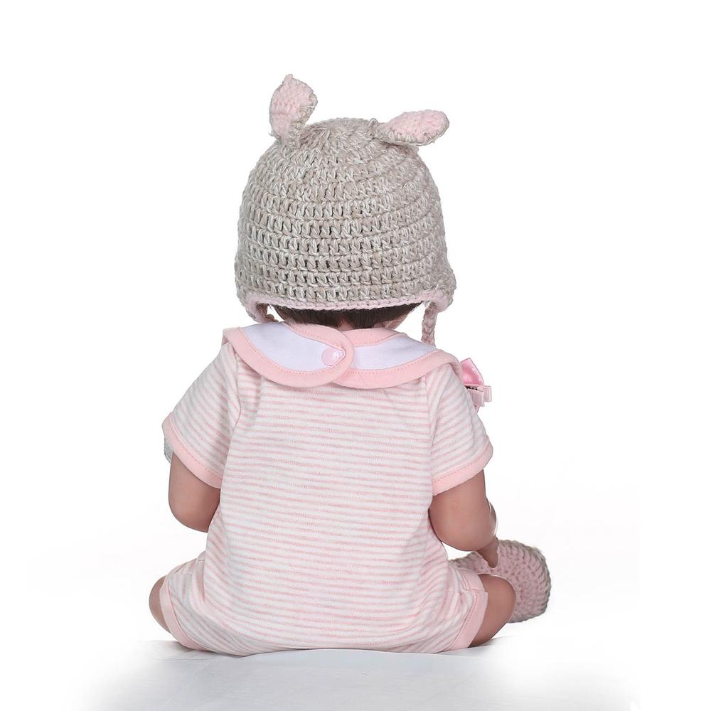 NPK Reborn Doll 16381701 High-end Vinyl Silicone Princess Doll Birthday Holiday Gift Bedtime Playmates Toys