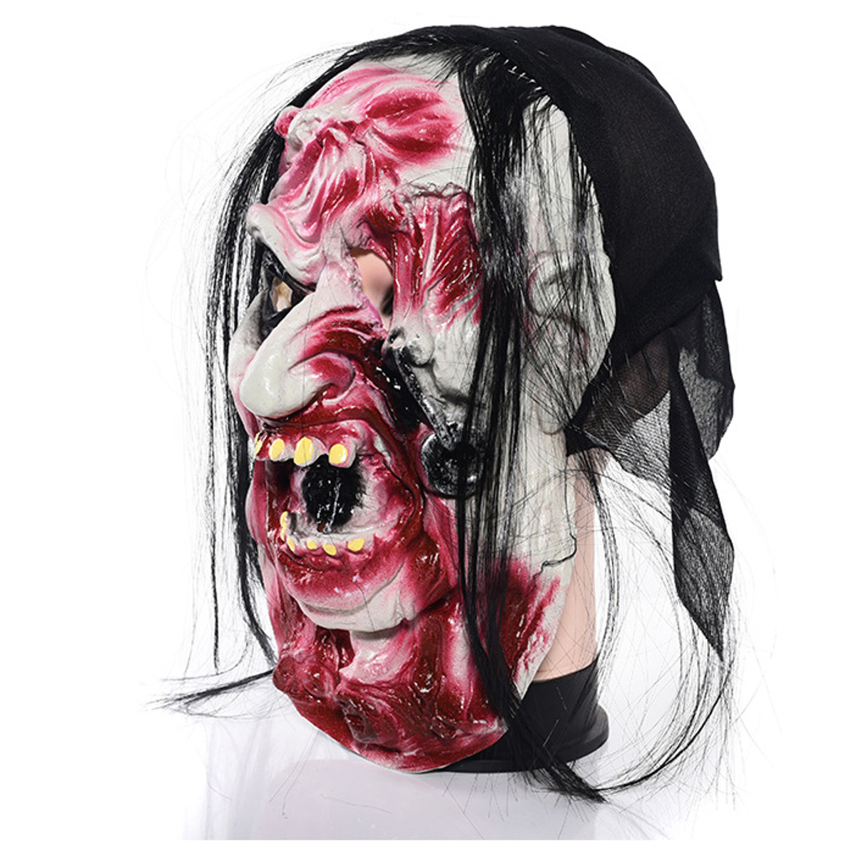 Halloween Cosplay Latex Mask Terrorist Face Party Mask