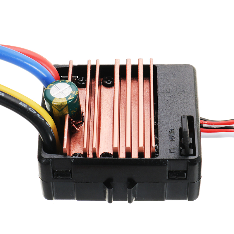 60A ESC Carbon Brushed 1/10 RC Crawler Car Part