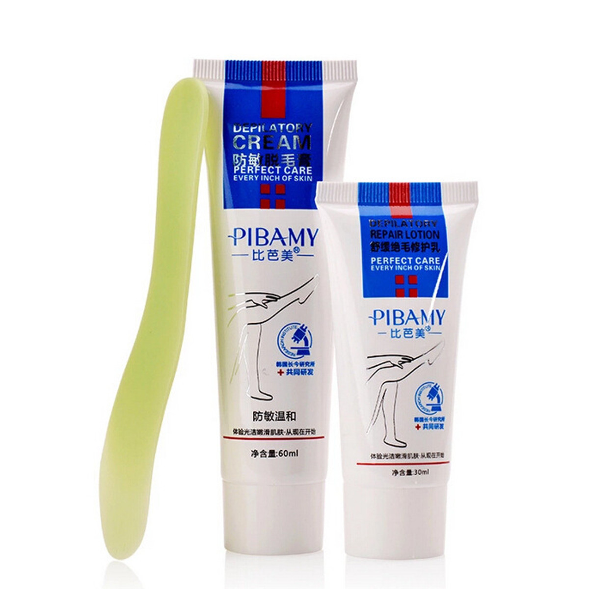 Hair Removal Cream Repair Lotion Scraper