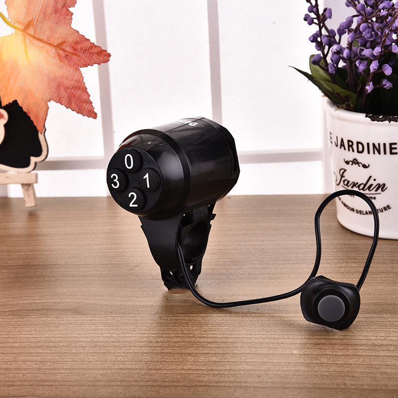 Sunding SD-603 Password Super Loud Waterproof Electronic Security Alarm Bike Ring Bell