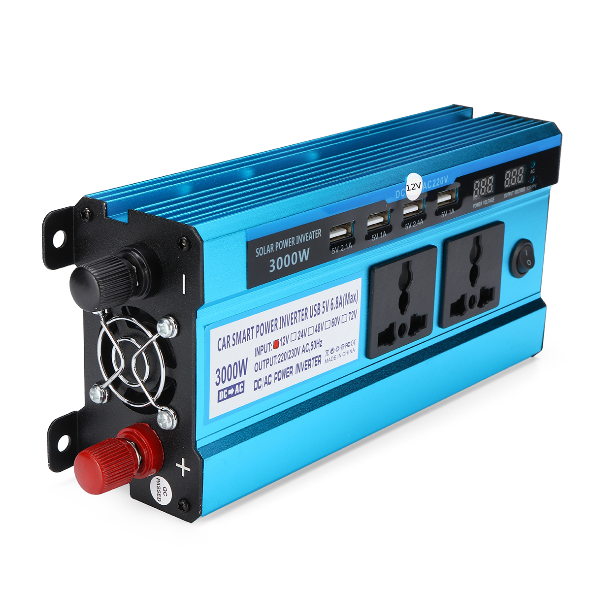 3000W LED Display Solar Power Inverter Modified Sine Wa