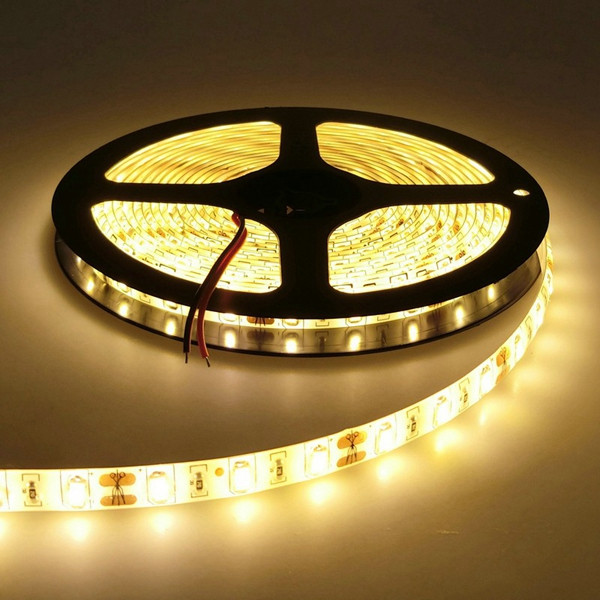5M Waterproof White/Warm White SMD 5730 300 LED Flexible Strip Tape Light DC12V