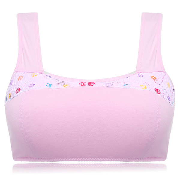 Cosy Breathable High Elastic Camisole Girls Bra