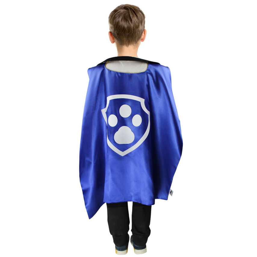 Halloween kids Cape and Mask Set Patrol Costume Birthday Party Favor Superhero Style Cosplay Costume Gifts