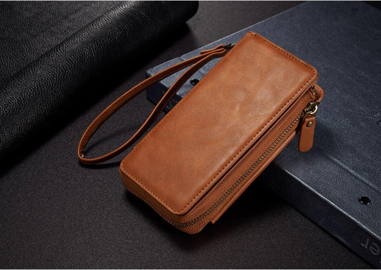 Bakeey Detachable Zipper Wallet Bracket Case For iPhone 7/8
