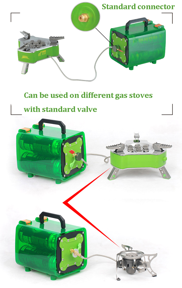 BRS-Q5 Outdoor Picnic Power Gas Tank Unit Bin For Camping Travel Stove